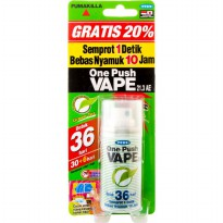 Vape Obat Nyamuk One Push 10 ml