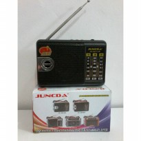 (Siap Kirim) RADIO MP3 PLAYER USB SD JUNCDA JC-301UR