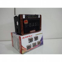 DISKON RADIO MP3 PLAYER USB/SD JUNCDA JC-307UR