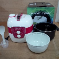 Yong Ma MC-3600 Magic Com - Penanak Nasi 2 Liter - Rice Jar Cooker