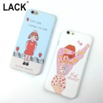 [globalbuy] Fashion Korea Doctor Strawberry Back Cover For iphone 6 Case For iphone 6S 6 P/3730963