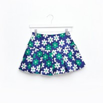 IMPORT Cute Flora Mini Skirt