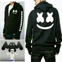 Sweater marshmello / sweater marshmello hitam