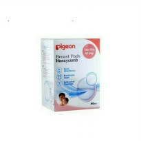 Pigeon Breast Pad Honeycomb Isi 66 Pcs Promo A09
