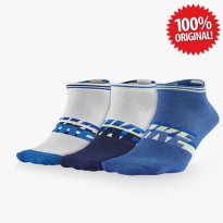ORIGINAL Nike 3-Pack Sportswear Lightweight No-Show Logo Socks