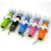 X9 - TONGSIS MONOPOD MINI CABLE KABEL LIPAT + HOLDER U MINI TONGSIS X9