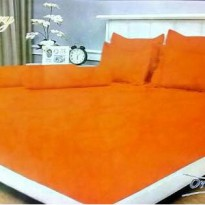 Internal Vallery Orange Sprei 180*200*30