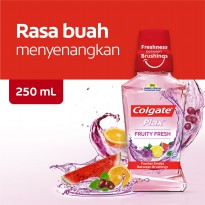 Colgate Plax Fruity Fresh Mouthwash/Obat Kumur 250ml