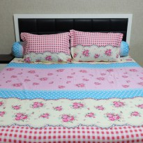 Sleep Buddy Set Sprei Clementine Cvc King Size