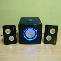 (Gold Product) Simbadda Speaker CST 3500N (Includes USB Port,memory and Blutooth)
