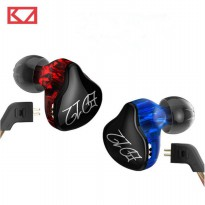 Knowledge Zenith Bass Monitoring Earphones with Mic - KZ-ED12 - Black