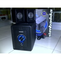 [Limited Offer] Simbadda USB Multimedia Speaker CST 2300N (with USB Port)