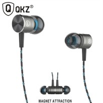Knowledge Zenith Magnetic Earphone with Mic - QKZ-X41M - Silver
