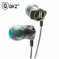 Knowledge Zenith Stereo Bass In-Ear Earphones with Microphone - QKZ-DM7 - Black