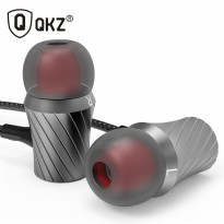 Knowledge Zenith Tornado Super Bass In-Ear Earphones with Microphone - QKZ-X9 - Silver
