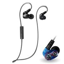 Moxpad X90 Sport Wireless Bluetooth 4.1 Earphone with Microphone - Black
