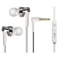 Phrodi 600 Earphone dengan Mic - POD-600 - White Kabel