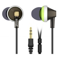 Phrodi 747 Earphone - POD-747 - Black Kabel