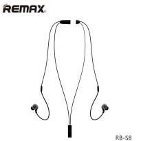 Remax Sport Bluetooth Earphone - RB-S8 - Black