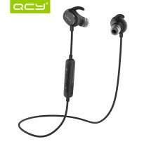 QCY QY19 Phantom Earphone Bluetooth Olahraga APT-X dengan Mic - Black