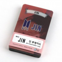 [BTS] BTS Goodness Jin Kim Seok Jin Clear Photo Cards Poca 25sheets set