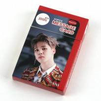 [BTS] BTS Goodness Ji Min Park Min Photo message Cards Poca 30sheets set