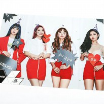 [MAMAMOO] Mama Radish Goods Posters Bromide 12sheets + Sticker set