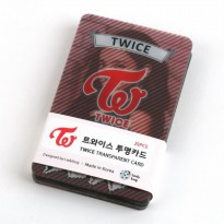 [TWICE] Twice Goods TWICE Clear Photo Cards Poca 25sheets set