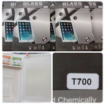 TEMPERED GLASS Samsung Galaxy Tab S 8.4 T700 FLIP SOFT BOOK BACK CASE