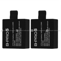 (Star Product) BRICA AE B-PRO 5 Alpha Edition Combo Duo Baterai / Battery Original !!