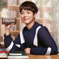 [Lotte] Ghana Cacao Mild Chocolate 34g x 15EA / Park Bo Gum Chocolate / ★Lowest Price★ / K-Food