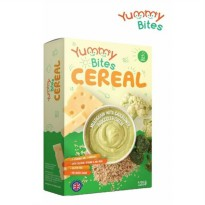 Yummy Bites Cereal - Multigrain with Cauliflower Broccoli & Cheese 125gr