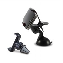 Car Phone Holder 2-in-1