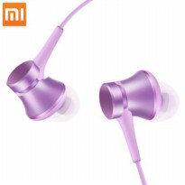 Xiaomi Mi Piston Huosai 3 Earphone Fresh Version (ORIGINAL) - Purple Kabel