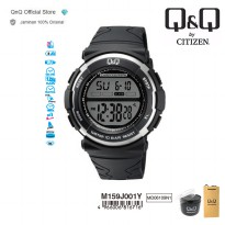 Q&Q QnQ QQ Original Jam Tangan Pria Digital Casual- M159 M159J Water Resist