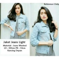 Jaket Jeans Light