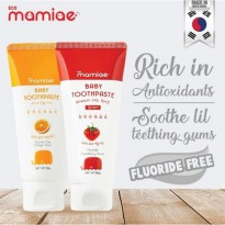 Eco Mamiae Baby Toothpaste - Strawberry 60gr