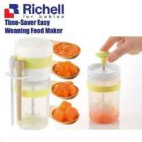 Richell Time-Saver Easy Weaning Pot Maker