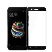 HMC Xiaomi Mi A1 / AndroidOne Tempered Glass - 2.5D Full Screen - Lis Hitam