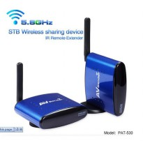 Pengirim Sinyal Audio Video Wireless 5.8GHz 200M - Blue