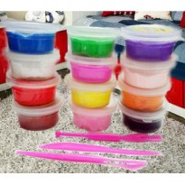 Clay Mainan 12 warna ( mika ) mainan edukasi / education toys