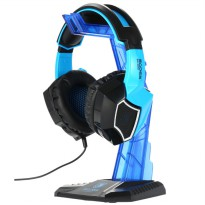 Sades Universal Gaming Headphone Hanger - Blue
