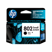 Catridge Tinta Hp 802 Black Original