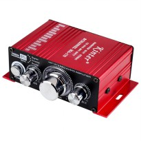 Kinter Amplifier Speaker 2 channel 20W 5A - MA-170 - Red