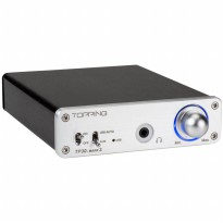 Topping TP30-MARK2 Digital Amplifier TA2024 with DAC and Headphone Amp - Silver