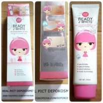 (Limited) CATHY DOLL READY 2 WHITE LOTION