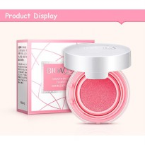 BIOAQUA BLUSH ON CUSHION SMOOTH MUSCLE FLAWLESS BLUSHON PERONA PIPI - 01 LIGHT PINK