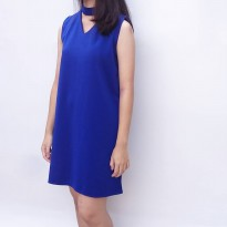 Neckline Sleeveless Dress