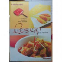 BUKU RESEP MASAKAN HAPPY CALL