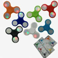 Fidgets Hands Spinner lampu Tombol On-Off